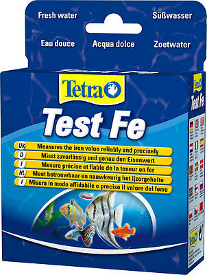 Tetra AQUARIUM Test Fe*Tetra TEST Fe (10ml + 16.5g) FRESH WATER * measures iron