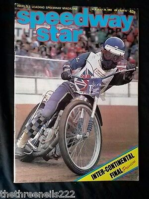Speedway Star - Inter-Continental Preview - July 24 1982