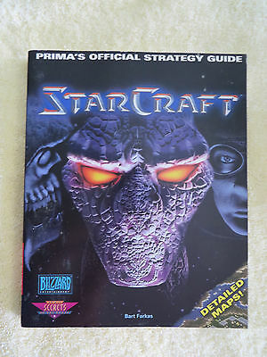 StarCraft Prima Official Strategy Guide Bart Farkas Detailed Maps Very Good