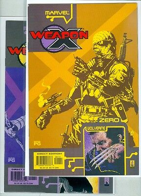 Weapon X: The Prey #1, #2, #3, #4 and #5 VF/NM Complete Set