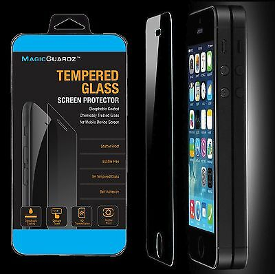10x Wholesale Lot of 10 Tempered Glass Film Screen Protector for iPhone 5 5c 5S