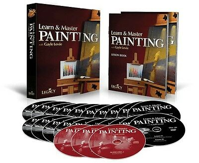 Learn and & Master Painting Homeschool Edition 20 DVDs 3 CDs BOOK NEW  000321129