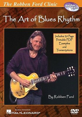 Robben Ford The Art of Blues Rhythm Instructional Guitar  DVD NEW 000320708