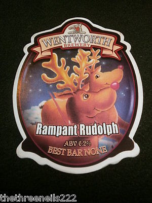 Beer Pump Clip - Wentworth Rampant Rudolph