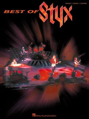 Best of Styx Sheet Music Piano Vocal Guitar Songbook NEW 000306446
