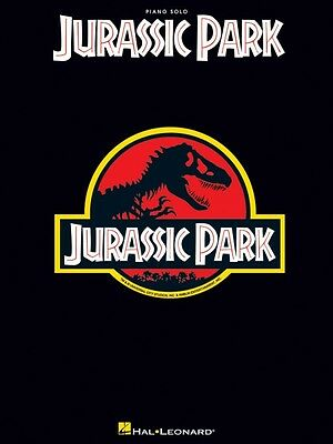 Jurassic Park Sheet Music Piano Solo Songbook NEW 000120905