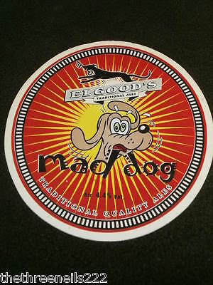 Beer Pump Clip - Elgoods Mad Dog
