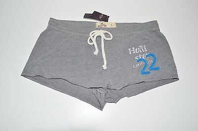 Hollister California Bettys Gray Shorts Size Small - 100% Authentic - NWT