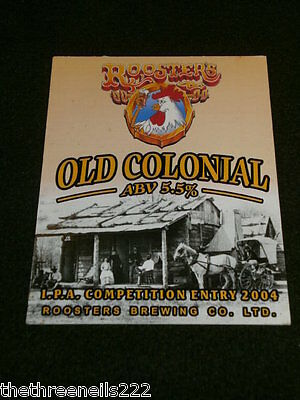 Beer Pump Clip - Roosters Old Colonial