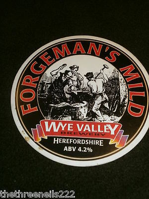 Beer Pump Clip - Wye Valley Forgeman's Mild