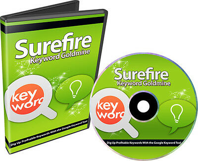 How To Research Market Demand With Free Google Keyword Tool- Videos on 1 CD