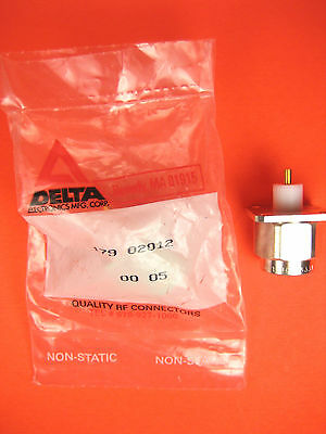 Delta  179 02012  Square Flange Connector Coaxial Adapter