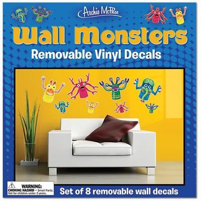 Wall Monsters Removable Vinyl Wall Decals