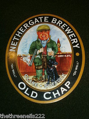 Beer Pump Clip - Nethergate Old Chap