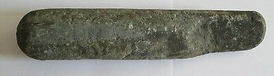 "Native American Stone Pestal Antique 10"" Stone Hand Held Tool Club"