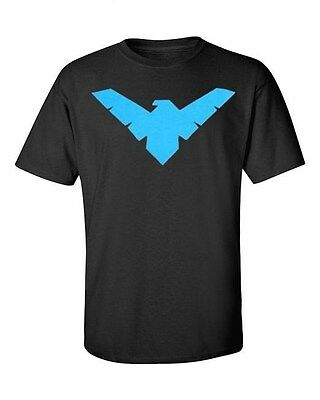NightWing t-shirt Batman Robin black tee graphic novel comic Night wing DC