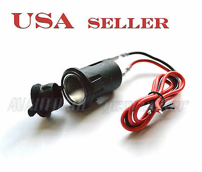 12VDC Car Cigarette Lighter Socket for GM Chrysler Dodge CIGS1 5100