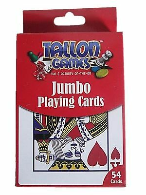 Tallon Jumbo Playing Cards Games (B4U)