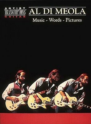 Al Di Meola Music Words Pictures - Transcribed NEW 000604043