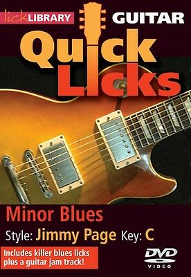 Lick Library – Quick Licks – Jimmy Page Minor-Blues