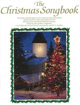 The Christmas Songbook Sheet Music Book NEW 014006773
