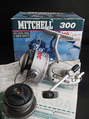 Mitchell 300 Century Fishing Reel Boxed Vintage Collectable
