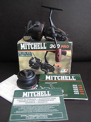 Moulinet Mitchell 300 Pro Fishing Reel Boxed Vintage Collectable