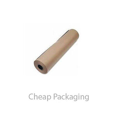 Strong Brown Kraft Wrapping Parcel Paper 90Gsm Free P&p