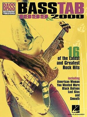 Metal Bass Tabs Sheet Music Bass Recorded Versions Mixed Book NEW 000103358