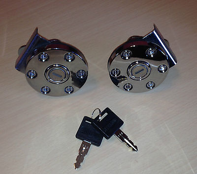 2 Better Built Truck Toolbox Keyed Alike Locks w/ 2 keys Tool Box Lock