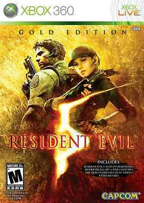 Resident Evil 5 (Gold Edition) (Xbox 360) Blood, Gore, & Intense Violence!