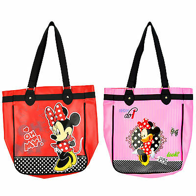 Girls Minnie Mouse Large Tote/shopper Bag 100% Official Merchandise Brand New