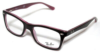 RAY BAN 5228 50 2126 BORDEAUX  ON LILAC OCCHIALE VISTA GLICINE EYEWEAR STAR