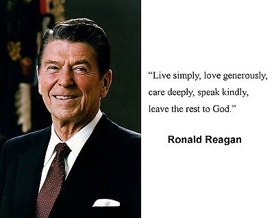 PRESIDENT RONALD REAGAN Quote 60 X 60 Photo Picture K60 6060 Beauteous Ronald Reagan Love Quotes