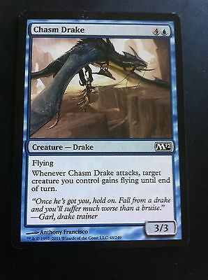 Card x4 MTG - Chasm Drake - Magic 2012