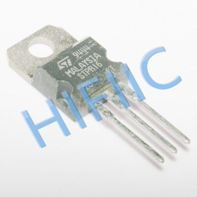 5Pcs Stpr1620Ct Ultra-Fast Recovery Rectifier Diodes To220