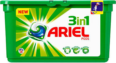 Ariel 3 In 1 Pods Regular 38 Washes