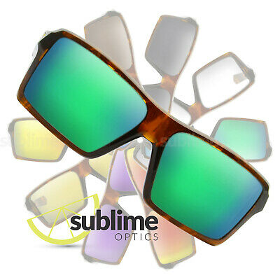 POLARIZED Metallic Green Replacement Lenses For Oakley Eyepatch 1 & 2.0  OO9136