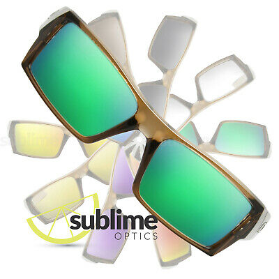 POLARIZED Metallic Emerald Green Replacement Lenses For Oakley Gascan S (Small)