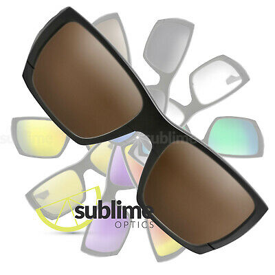 POLARIZED Dark Brown Replacement Lenses For Oakley Style Switch ~ Bronze