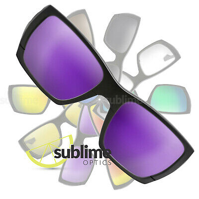 POLARIZED Metallic Purple Replacement Lenses For Oakley Style Switch  OO9216