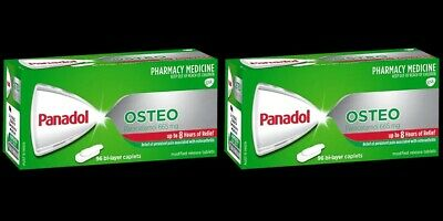 Free Same Day Postage! Panadol Osteo Pain Relief Twin Pack 192 Tablets
