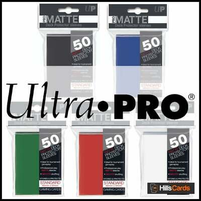 Ultra Pro: Pro Matte Card Sleeves - Standard Size Deck Protectors - Pokemon, Mtg