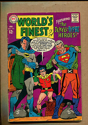 World's Finest Comics #173 - 1st Silver Age Two Face! - 1968 (Grade 4.0) WH