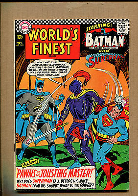 World's Finest Comics #162 - Jousting Master! - 1966 (Grade 6.0) WH