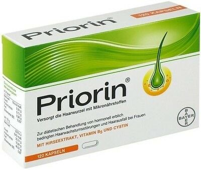 Bayer Priorin Anti Hair Loss - 240 Capsules. Hair Growth Loss Regrowth Treatment