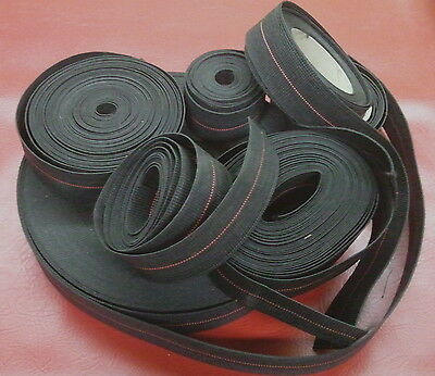 "2"" Rubber-Elastic Webbing-Upholstery Supplies ""bty"" Replaces Pirelli 10% Stretch"