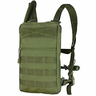 NEW Condor #111030 Tactical MOLLE Tidepool Hydration Carrier w/1.5 L Bladder OD
