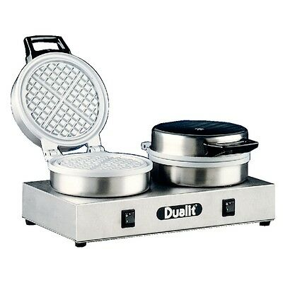 Dualit Professional Double Waffle Maker Model 74002