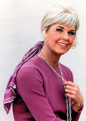 Doris Day Fantastic Colour Poster Purple